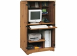 Sugar Creek Computer Armoire Spiced Pine - Sauder Furniture - 103330