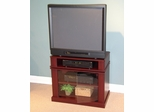 Swivel Top Entertainment Cart in Cherry - 4D Concepts - 08699