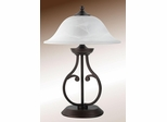 Table Lamp with Glass Shade - 901207