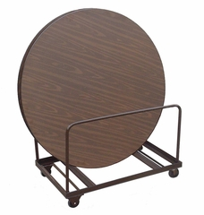 """Table Truck for 48"""" and 60"""" Round Tables - Edge Stack 24"""" x 48"""" - Correll Office Furniture - T6060"""