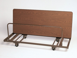 """Table Truck for Rectangular Tables - Edge Stack 28"""" x 72"""" - Correll Office Furniture - T282"""