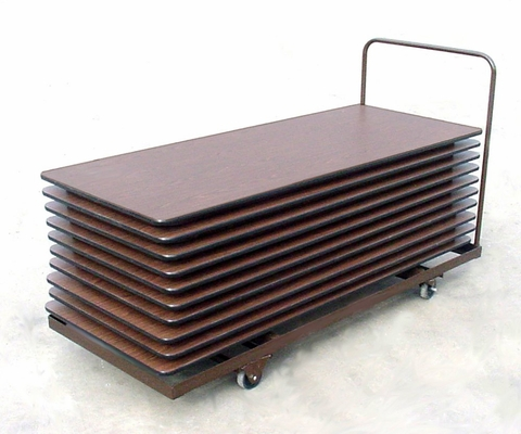 Table Truck for Rectangular Tables - Flat Stack 30