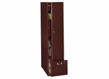 Tall Storage Tower - Quantum Harvest Cherry Collection - Bush Office Furniture - QT288FCS