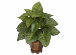 Taro with Vase Silk Plant - Nearly Natural - 6669