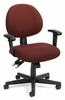 Task Office Chair - 24 Hour Computer Task Chair with Arms - OFM - 241-AA