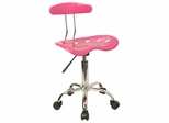 Task Office Chair in Pink - LF-214-PINK-GG