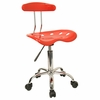 Task Office Chair in Red - LF-214-RED-GG