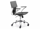 Task Office Chair - Trafico Office Chair (Set of 2) - Zuo Modern - 205181