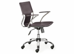 Task Office Chair - Trafico Office Chair (Set of 2) - Zuo Modern - 205183