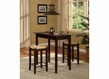 Tavern Three Piece Counter Dining Set - Linon Furniture - 02850ESP-01-KD-U