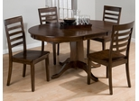 Taylor Cherry 5 Piece Table & Chair Set - 342-60