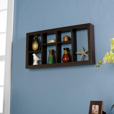 SEI Taylor Display Shelf Espresso 24