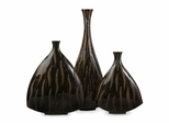 Terra Vases (Set of 3) - IMAX - 31040-3