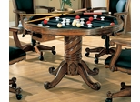 Three-in-One Game Table in Oak - Coaster
