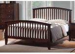 Tia Queen Bed with Tapered Legs - 202081Q