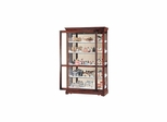 Townsend Curio Cabinet in Windsor Cherry - Howard Miller