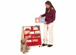 Toy Storage - Canvas Book Display (Double) - Guidecraft - G6428