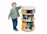 Toy Storage - Moon and Stars Media Carousel - Guidecraft - G98040