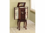 Traditional Jewelry Armoire with 4 Drawers - 903800