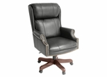 Traditional Office Chair - Barrington Traditional Swivel Chair - 9099XBK