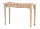 Traditional Sofa Table with Drawer - BJ7S
