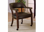Traditional Upholstered Guest Chair with Nailhead Trim - 515B