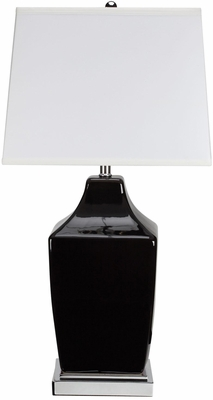 Transitional Black Table Lamp - Set of 2 - 901495
