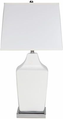 Transitional Table Lamp with Chrome Base - Set of 2 - 901491