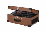 Traveller Turntable in Tan - Crosley - CR49-TA
