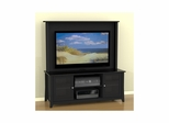 Tuxedo 58'' Center Channel TV Stand & Decorative Wall Panel - Nexera Furniture