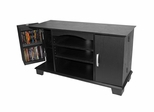 TV Stand - 42 Inch Morristown TV Stand in Black - W42C77BL