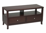 TV Stand in Merlot - Office Star - ME40