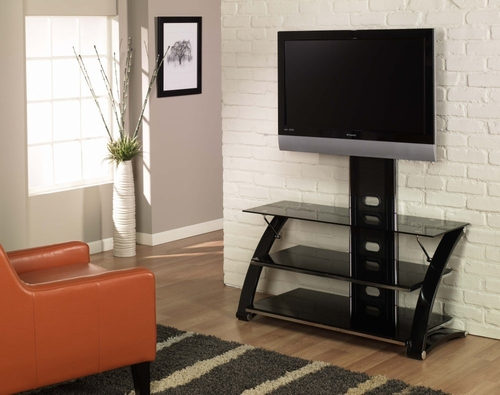 Tv Stand Vitoria Flat Panel Tv Stand With Integrated