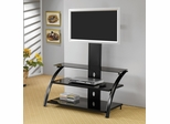 TV Stand with Bracket in Black - Coaster