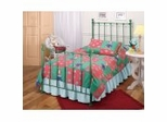 Twin Size Bed - Molly Twin Size Bed in Green - Hillsdale Furniture