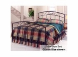 Twin Size Bed - Wendell Twin Size Metal Bed
