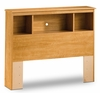 Twin Size Bookcase Headboard in Florence Maple - South Shore Furniture - 3575098