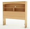 Twin Size Bookcase Headboard in Natural Maple - South Shore Furniture - 3113098