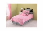 Twin Size Comforter Set - 3-Piece Emsemble in Cleo Pattern - 80JQ310CLE