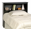 Twin Size Headboard in Black - Sonoma Collection - Prepac Furniture - BSH-4543