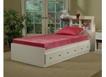 "Twin Size Mattress - 7"" Sleep Science ViscoKidz Pink Memory Foam Mattress - South Bay International - VK-TMP"