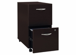 Two-Drawer File (Assembled) - Series C Mocha Cherry Collection - Bush Office Furniture - WC12952SU