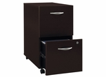 Two-Drawer File - Series C Mocha Cherry Collection - Bush Office Furniture - WC12952