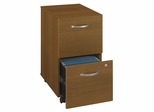 Two-Drawer File - Series C Warm Oak Collection - Bush Office Furniture - WC67552