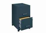 Two Drawer File with Casters - Hirsh Industries - 15667