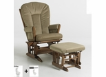 Two Post Multiposition Glider and Ottoman Combo - Dutailier - C01-82B