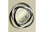Two-Tone Contemporary Wall Mirror - 901734