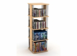 Typhoon 216 CD or 144 DVD or Blu-Ray or Games Spinner in Maple with Silver Finished Steel Rods - Atlantic - 82635739