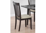 Upholstered Dining Chair with Fabric Cushion Seat - Set of 2 - 103722