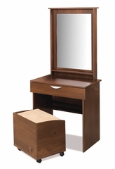 Vanity, Mirror and Bench Set - Nocce Collection - Nexera Furniture - 400041